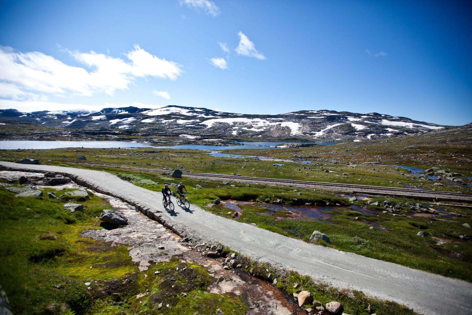 Sykkel Finse-Haugastøl