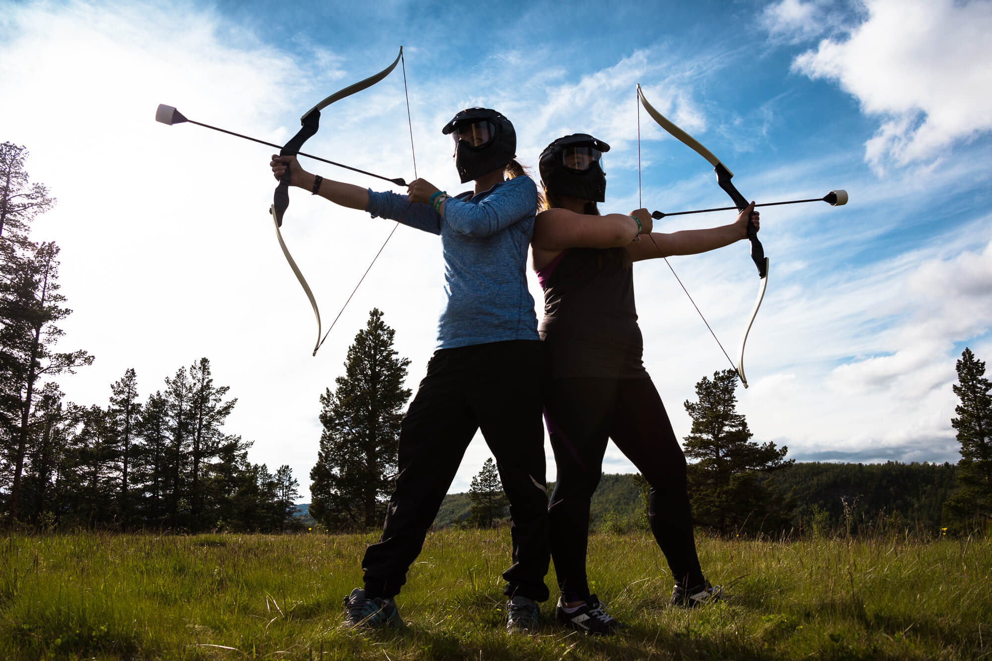 Gruppe: Archery tag