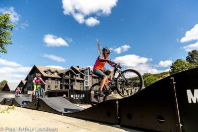 Initiation to mountain biking