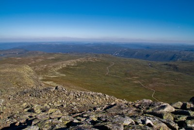 Guided whole day hike in Geilo