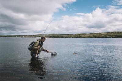 Fisketur over Hardangervidda