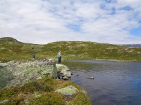 Fisketur over Hardangervidda