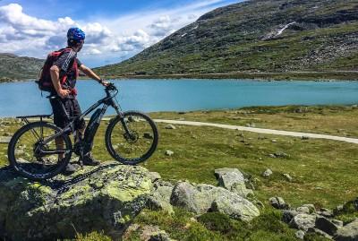 E bike tour from Haugastol on Rallarvegen