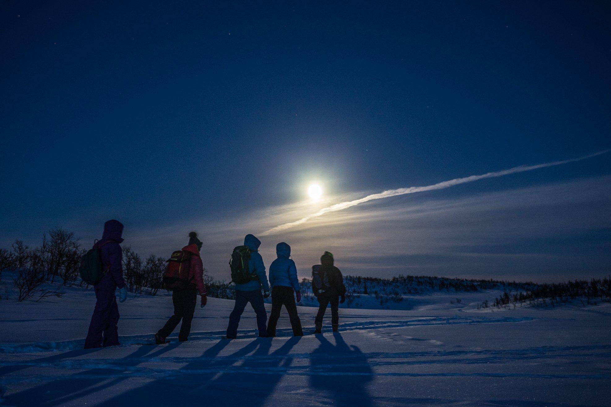 Fjell ski in Geilo area