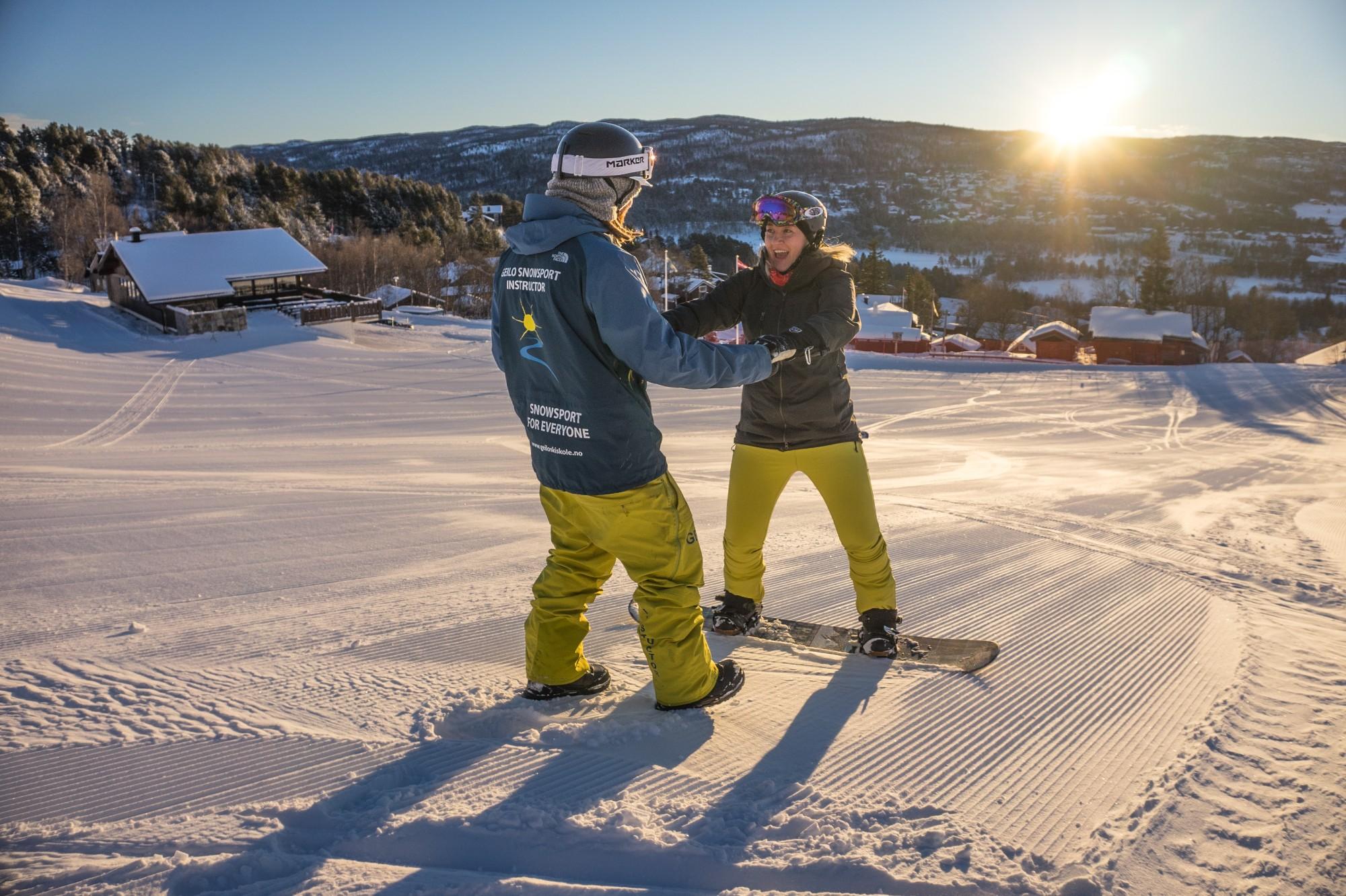 Snowboard Taster