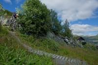 Sykkel, Sykkelutleie downhill