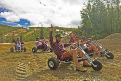Sommerpakke inkl overnatting, Hemsedalskortet og mountain cart