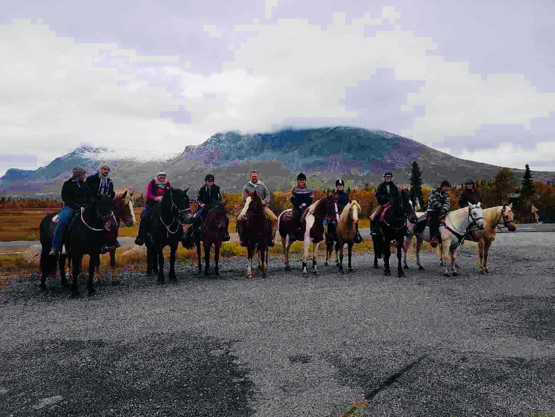 Rideleir med Hemsedal Western Horses på Haugen Gård