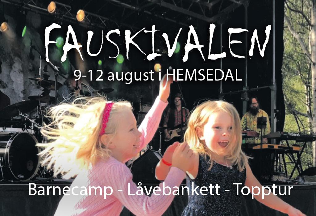 Fauskivalen 2018 - pakke inkl overnatting og festivalpass