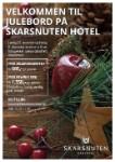 Julebordsbuffet på Skarsnuten Hotel
