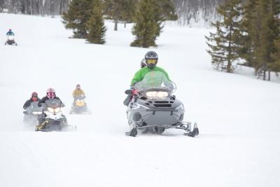 Snøscooterkjøring
