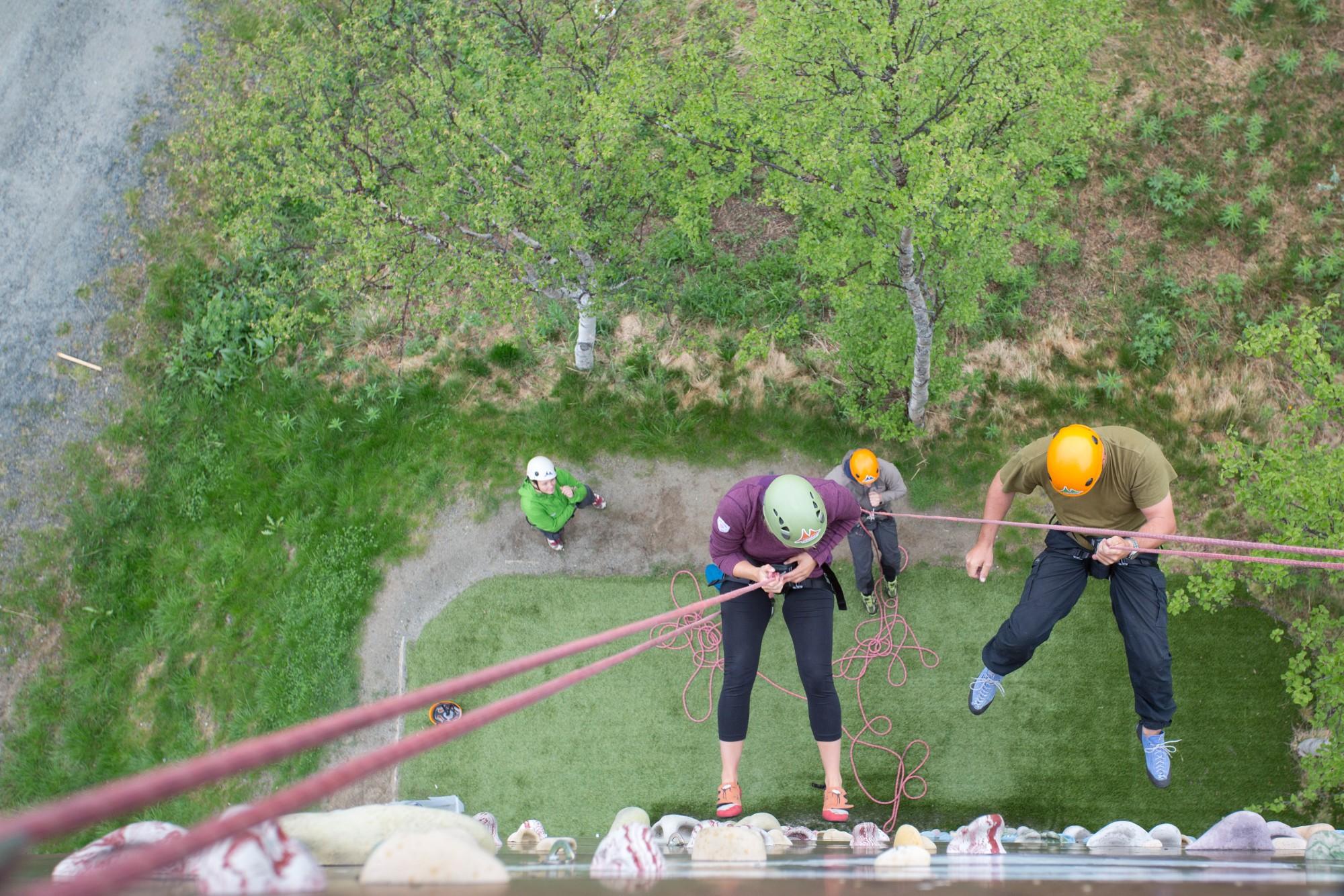 Klatreaktiviteter i klatretårn