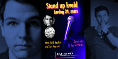 Stand Up kveld med Eirik Krokås og Sjur Koppen