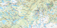 Detaljbilde fra kartet