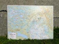 Veggkart fotruter Nesbyen Vest